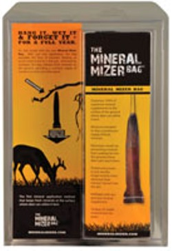 mineral mizer bag in pckging